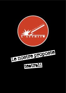 Gruppo Teatrale L'Attrito - Catalogo proposte teatrali, copertina